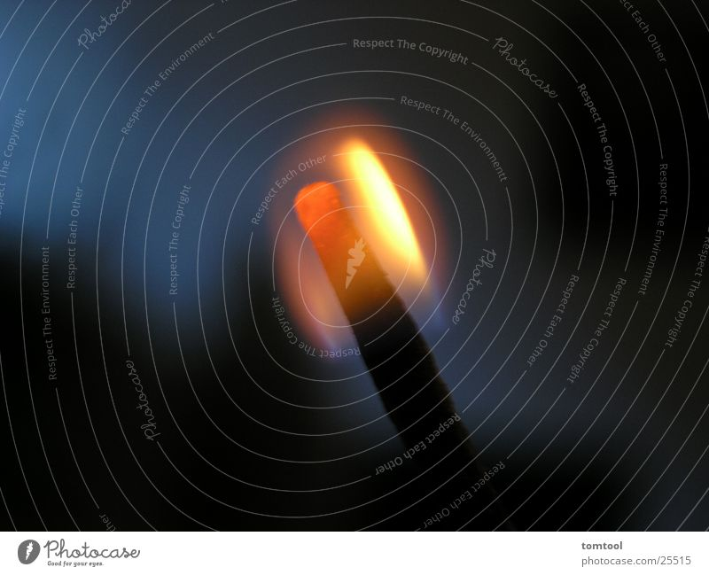 Dark Blaze Romance Hot Flame Match Embers Photographic technology