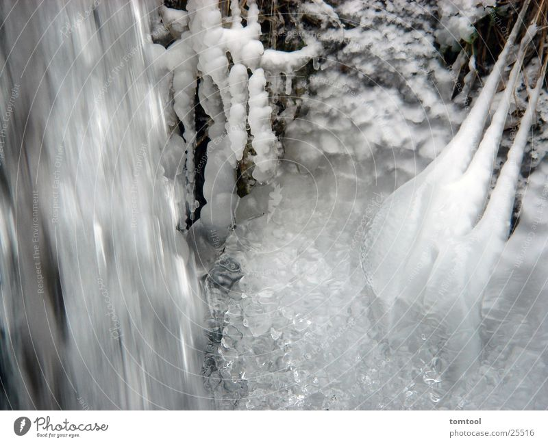 ice water White Force Bubbling Whirlpool Fresh Ice Water Snow Clarity
