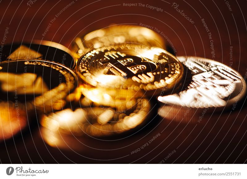 Crypto Currency Money Economy Financial Industry Financial institution Business Computer Technology Advancement Future High-tech Internet Metal Sign Paying