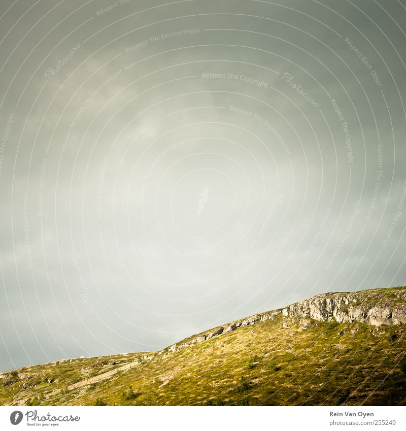 Horizons Sky Nature Clouds Calm Environment Landscape Mountain Moody Rock Hill Sky only