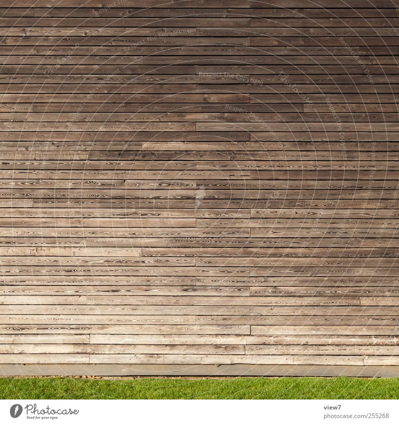House (Residential Structure) Wall (building) Wood Architecture Wall (barrier) Building Line Brown Facade Arrangement Design Beginning Modern Fresh Esthetic