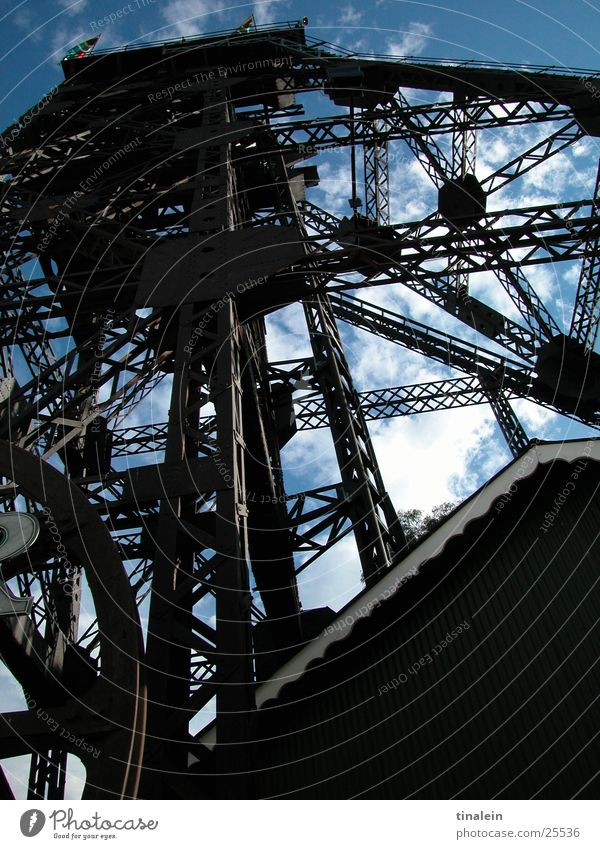 Gold Rush Steel South Africa Mine tower Electrical equipment Technology Tower Sky goldmine Johannesburg Scaffold