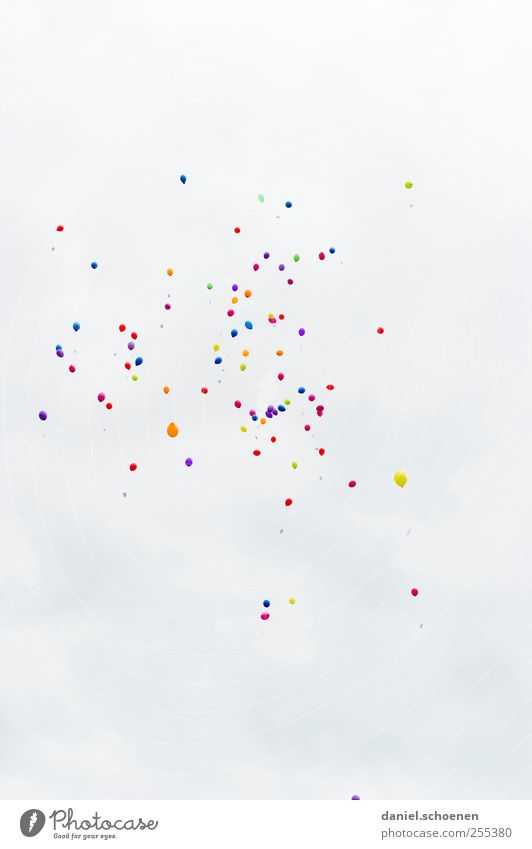 White Bright Feasts & Celebrations Flying Birthday Balloon Hover Jubilee Things