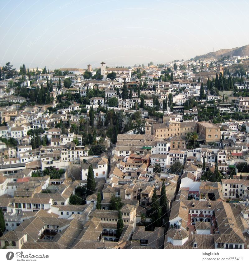 Old City House (Residential Structure) Europe Living or residing Vantage point Spain Old town Andalucia Granada