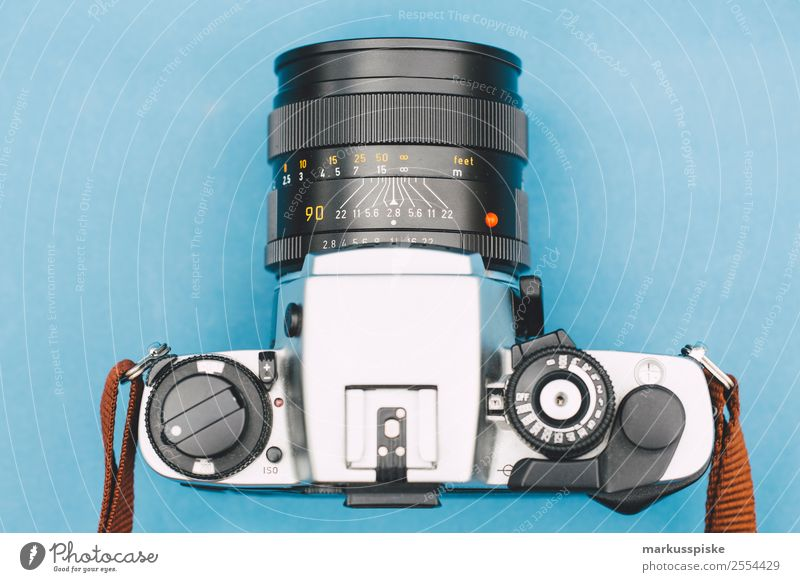 Analog Lens Camera Camera SLR Lifestyle Elegant Style Design Leisure and hobbies Work and employment Profession Take a photo Photography Photographer Film