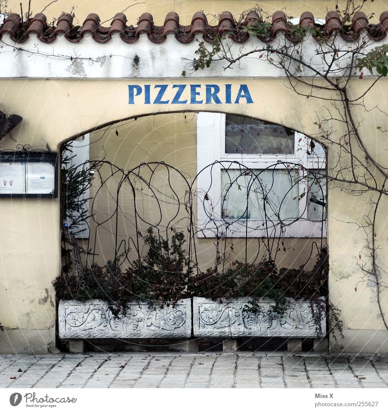 Old Window Wall (building) Wall (barrier) Facade Nutrition Restaurant Dinner Pizza Italian Food