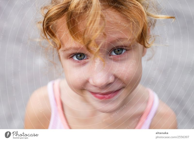 smiling girl Child Human being Summer Beautiful White Joy Face Funny Emotions Laughter Family & Relations Happy Small Infancy Smiling Happiness