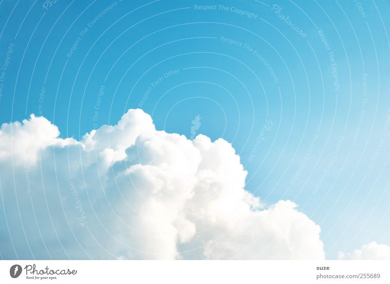 Sky Blue White Beautiful Clouds Environment Air Weather Background picture Climate Authentic Elements Soft Beautiful weather Heavenly Summery