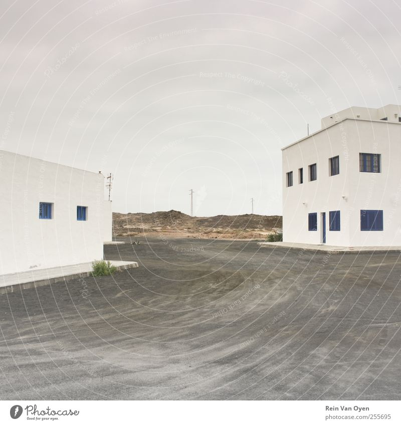 Gap Village Fishing village Small Town Downtown Outskirts House (Residential Structure) Architecture Wall (barrier) Wall (building) Window Serene Calm Lanzarote