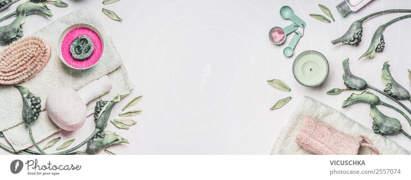 Beautiful Green White Healthy Lifestyle Background picture Style Design Decoration Shopping Candle Wellness Flag Hip & trendy Personal hygiene Cosmetics