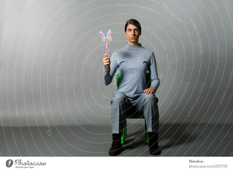Human being Gray Thin Butterfly Motionless Earnest Nerdy Demanding Retentive Oppressive Magic wand