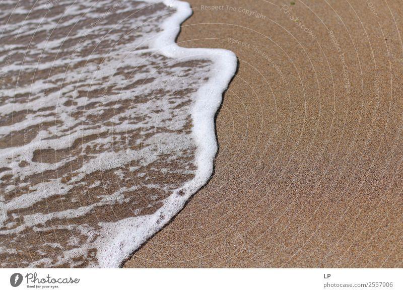 sea foam sand Lifestyle Wellness Harmonious Well-being Contentment Senses Relaxation Calm Meditation Vacation & Travel Summer Sunbathing Beach Ocean Island