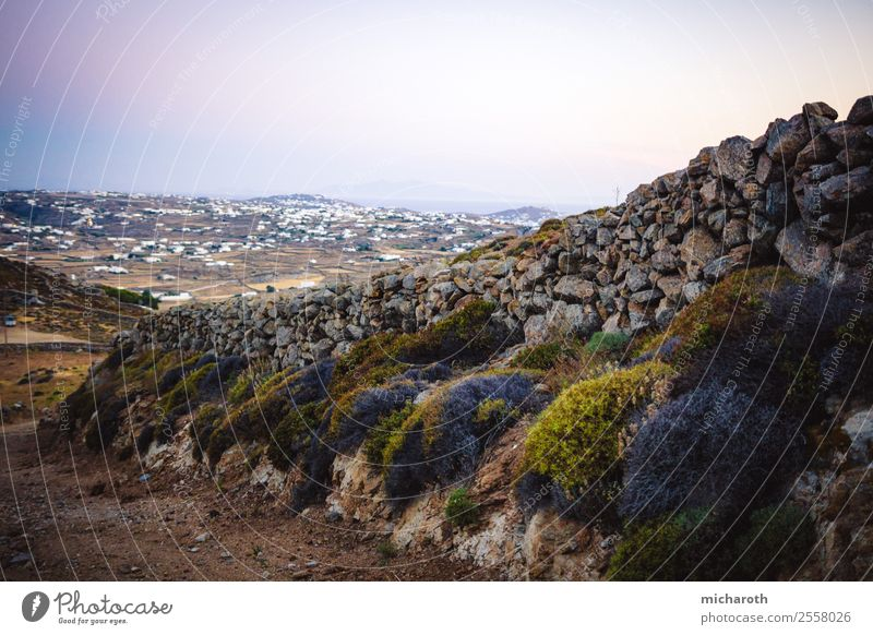 Mykonos Wall Vacation & Travel Tourism Trip Adventure Far-off places Freedom Expedition Summer vacation Ocean Island Hiking Landscape Earth Climate