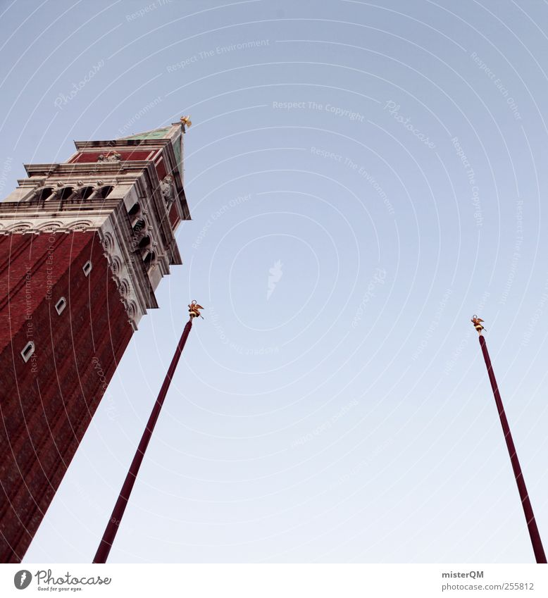 Sky Vacation & Travel Tourism Venice City trip Church spire Basilica San Marco Campanile San Marco