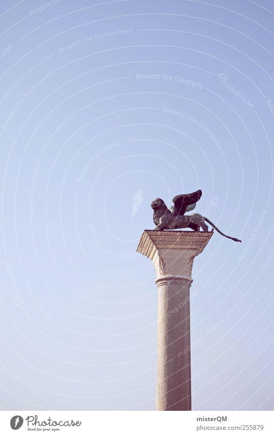 Stone Art Esthetic Wing Manmade structures Symbols and metaphors Landmark Column Venice Lion Symbolism St. Marks Square Heraldic animal Basilica San Marco