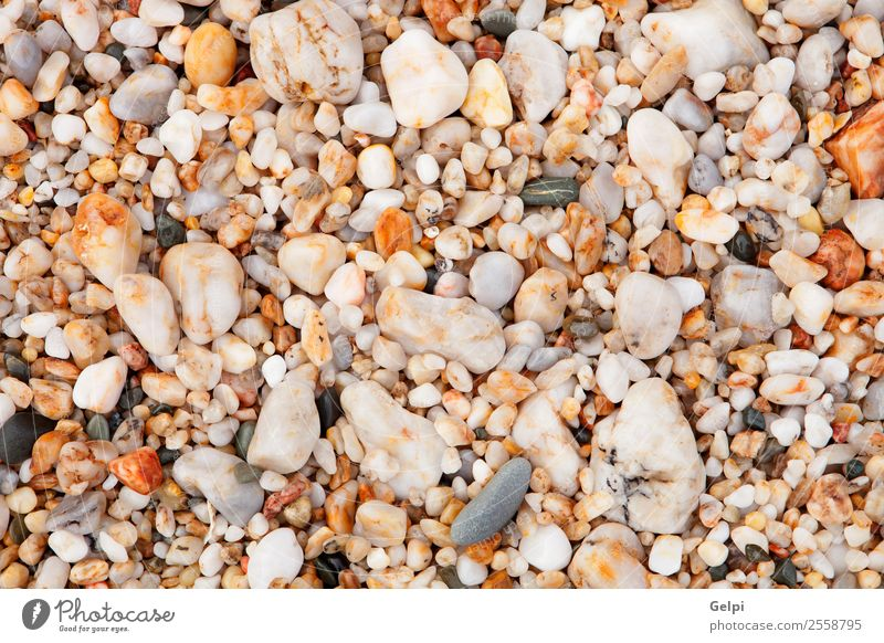 Wallpaper with small stones of the beach Spa Vacation & Travel Summer Beach Ocean Nature Rock Coast River Stone Wet Natural Blue Gray Black White Colour