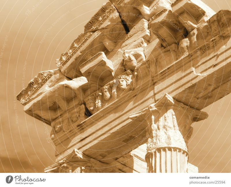 Human being Architecture Column Greece Ancient