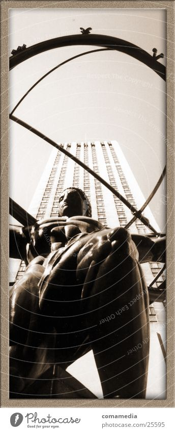 The World Bearer New York City High-rise Sculpture Art Architecture Earth
