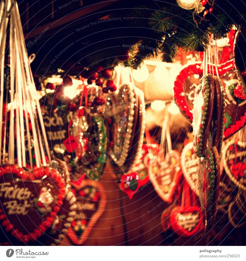 Old Christmas & Advent Green Red Joy Yellow Feasts & Celebrations Heart Happiness Nutrition Decoration Shopping Soft To enjoy Candy Tradition