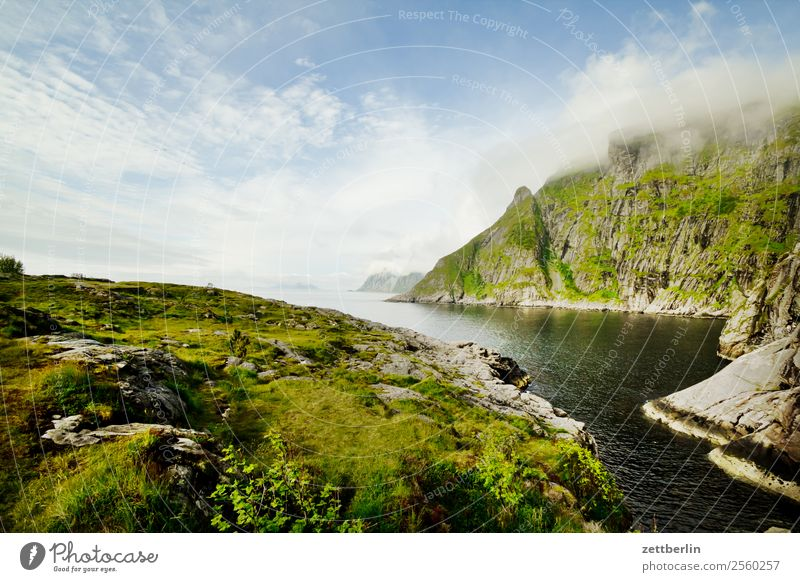 Å again Arctic Ocean Europe Rock Vacation & Travel Fjord Sky Heaven Horizon Island Landscape Lofotes Maritime Nature Nordic Norway Travel photography