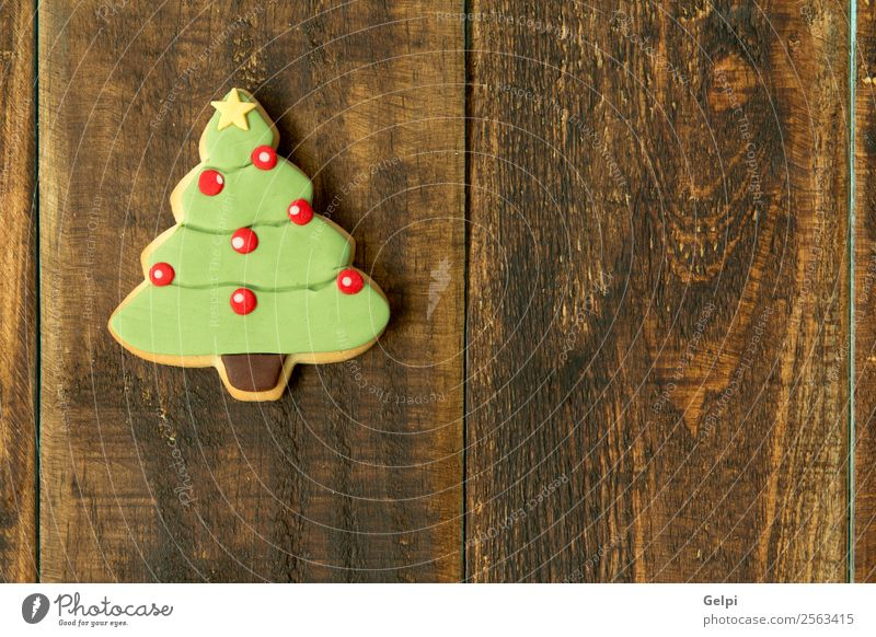 Delicious Christmas Cookies Christmas & Advent Green Tree Winter Wood Feasts & Celebrations Brown Decoration Table Herbs and spices Seasons Tradition Dessert