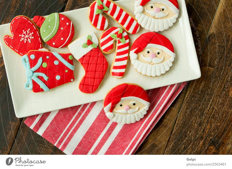 Delicious Christmas Cookies Christmas & Advent Red Winter Wood Feasts & Celebrations Brown Decoration Table Gift Herbs and spices Seasons Tradition Dessert
