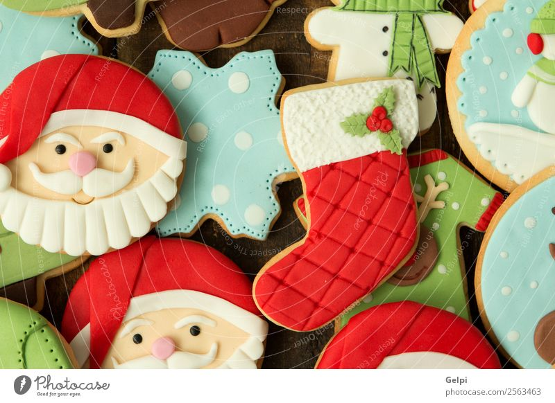 Delicious Christmas Cookies Christmas & Advent Tree Winter Wood Feasts & Celebrations Brown Decoration Table Gift Seasons Tradition Dessert Baked goods