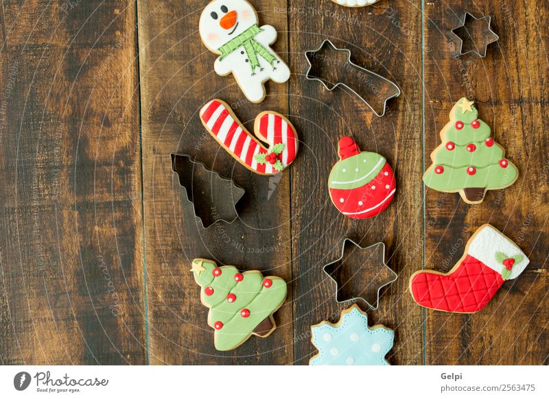 Delicious Christmas Cookies Christmas & Advent Tree Winter Wood Feasts & Celebrations Brown Decoration Table Herbs and spices Seasons Tradition Dessert
