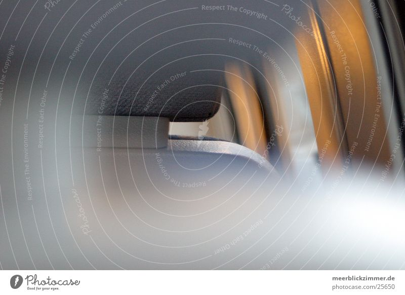 transparency Railroad Headrest Blur Transport Germany Seating Focal point