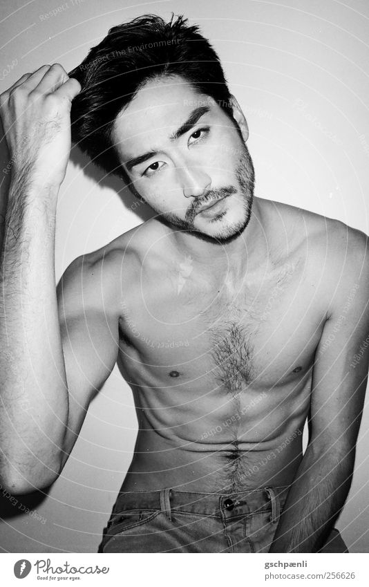APT BW 2 Masculine Homosexual Young man Youth (Young adults) Man Adults Body Head Hair and hairstyles Face Facial hair Chest Arm Hand 1 Human being