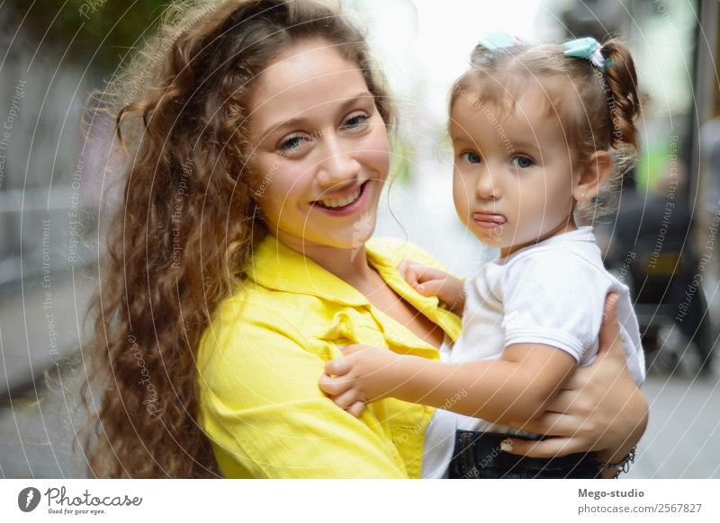 Older sister is hugging young sister. Lifestyle Joy Happy Beautiful Face Summer Child Human being Woman Adults Sister Family & Relations Friendship Infancy