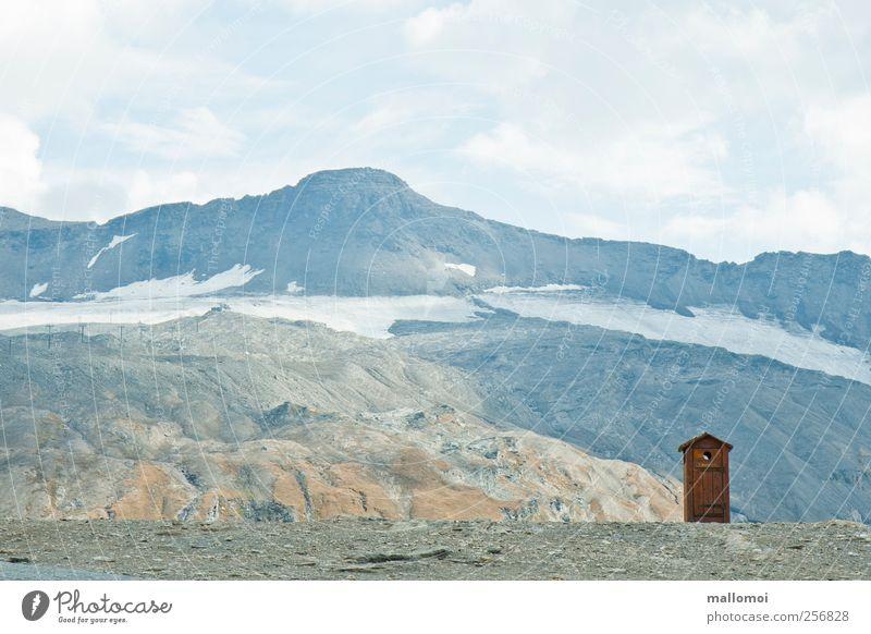 Sky Nature Blue Vacation & Travel Summer Calm Loneliness Snow Environment Landscape Mountain Lanes & trails Ice Rock Adventure Tourism