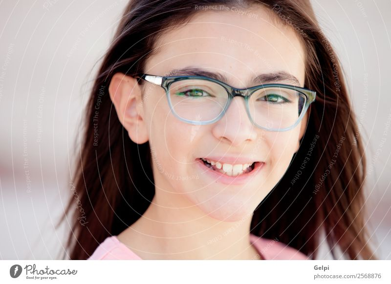 Adorable preteen girl Lifestyle Joy Happy Beautiful Face Child Schoolchild Human being Woman Adults Family & Relations Infancy To enjoy Happiness Small Funny