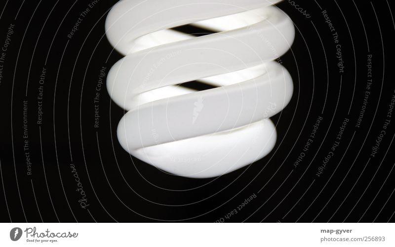 glow energy-saving bulb Electric bulb Design Elegant Cold Climate Pure Symmetry Environment Environmental protection Future Light Black & white photo