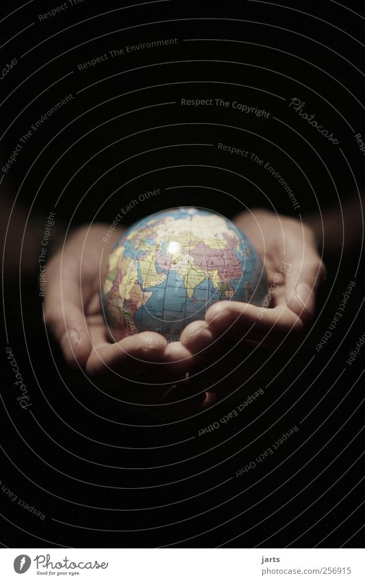 Human being Hand Environment Earth Fingers Help Protection Environmental protection Climate protection