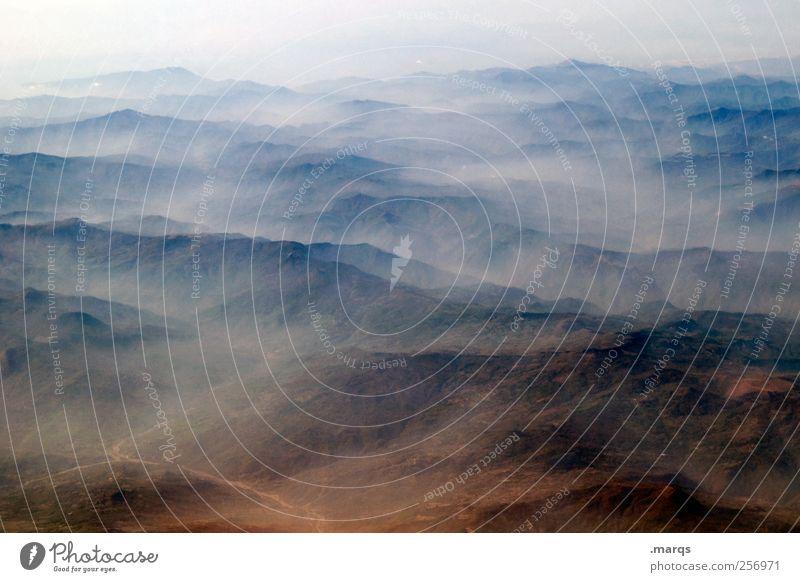 Nature Far-off places Environment Landscape Freedom Mountain Horizon Fog Climate change Apocalyptic sentiment