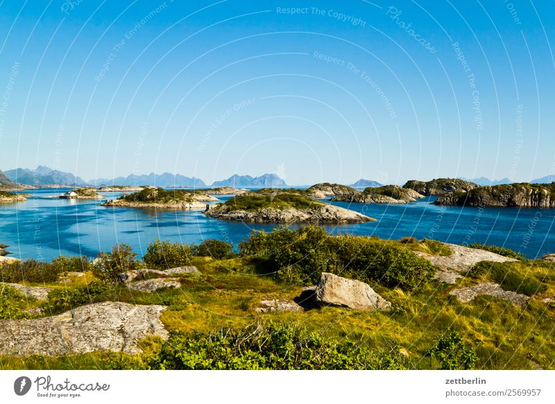 Henningsvær Arctic Ocean Europe Rock Vacation & Travel Fjord Sky Heaven Horizon Island Landscape Lofotes Maritime Nature Nordic Norway Travel photography Skerry