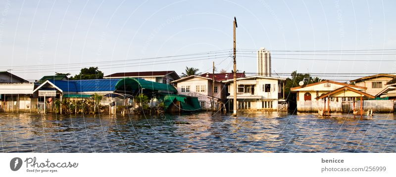bangkok flood High tide House (Residential Structure) Flood Flat (apartment) River Disaster Natural catastrophe Problem Town house (Terraced house) Bangkok