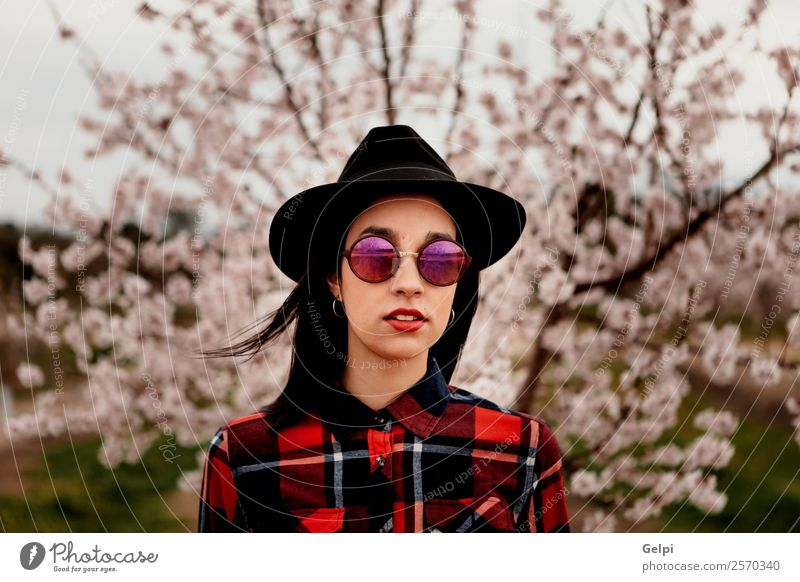 Woman Human being Nature Beautiful White Tree Red Flower Face Adults Blossom Natural Happy Style Garden Fashion