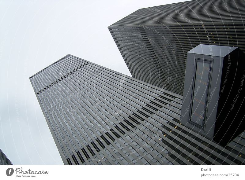 Sky House (Residential Structure) Building High-rise Modern Level Upward New York City Manhattan Skyward Modern architecture High-rise facade