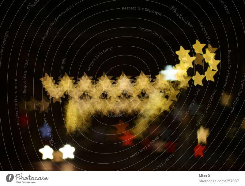Christmas & Advent Lamp Lighting Glittering Star (Symbol) Illuminate Figure Christmas decoration Reindeer Fairy lights Sea of light Christmas fairy lights
