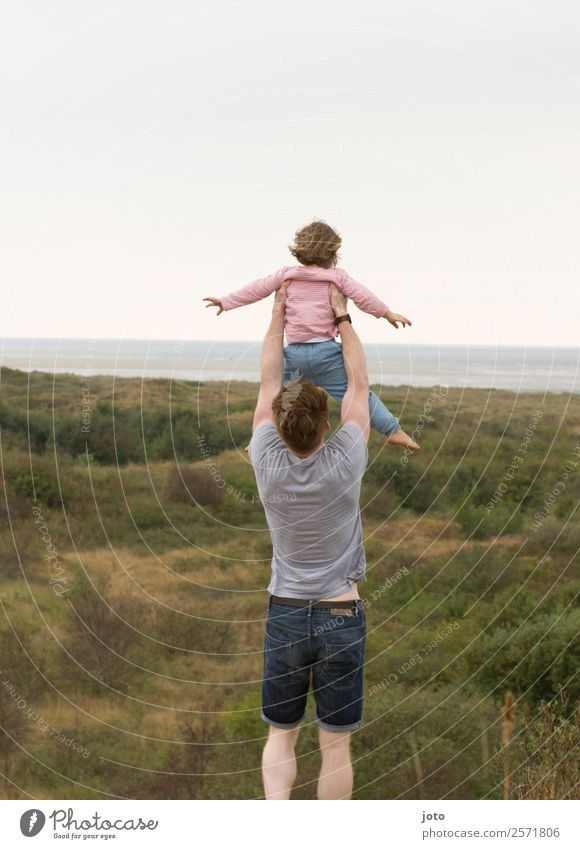 Child Human being Nature Vacation & Travel Landscape Joy Far-off places Adults Life Love Family & Relations Freedom Flying Trip Horizon Dream