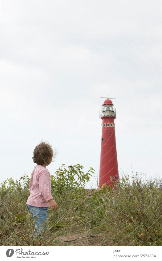 trip Vacation & Travel Tourism Trip Far-off places Sightseeing Summer vacation Child 1 Human being 1 - 3 years Toddler Wind Meadow Coast North Sea Island