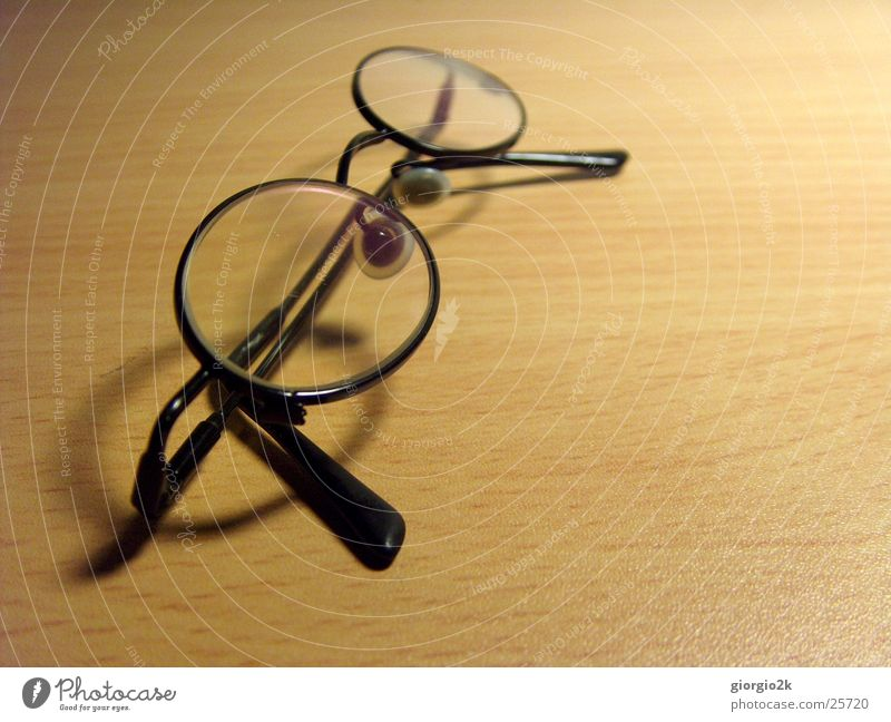 glasses Eyeglasses Table Desk Small aperture Black Blur Lighting Shadow Macro (Extreme close-up)