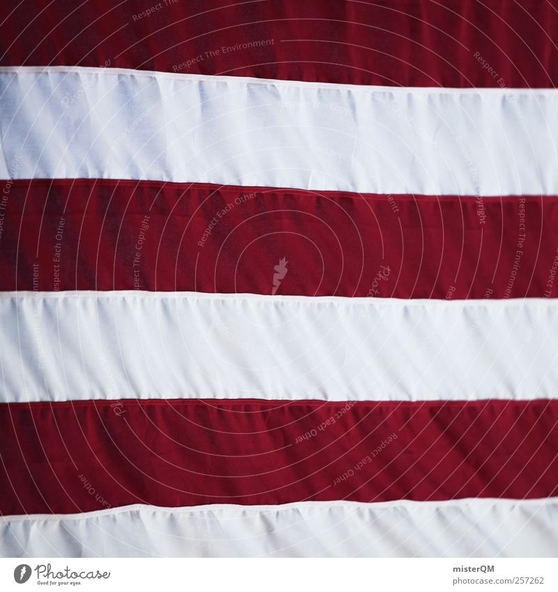 USA USA Sign Esthetic Line Line width American Flag US Army Americas Nationalities and ethnicity National Day Red White Symmetry Patriotism Pride Blow