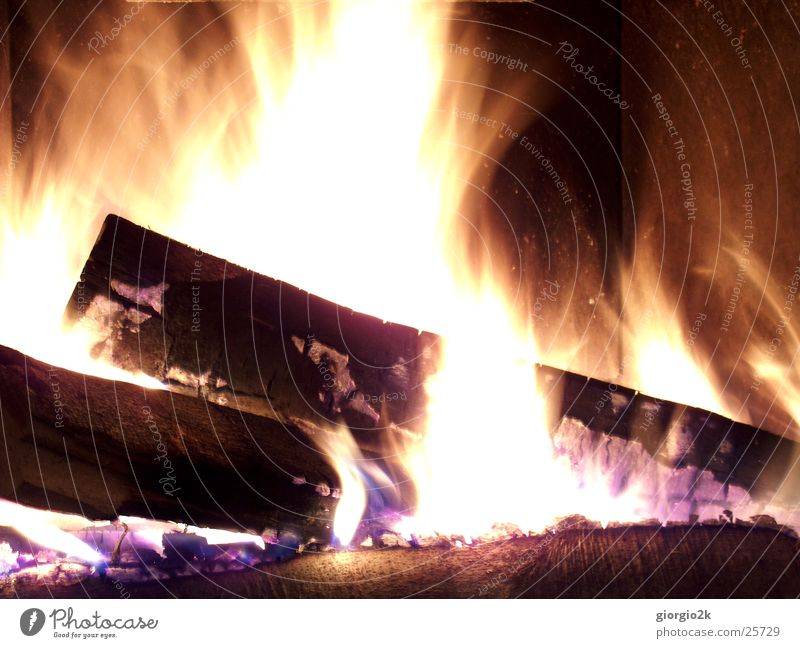 Purgatory I Hot Wood Burn Long exposure Red Carbon Fireside Blaze Flame fireplace Chimney