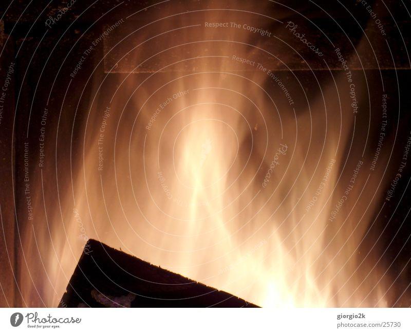 Wood Blaze Hot Burn Flame Chimney Fireside Carbon