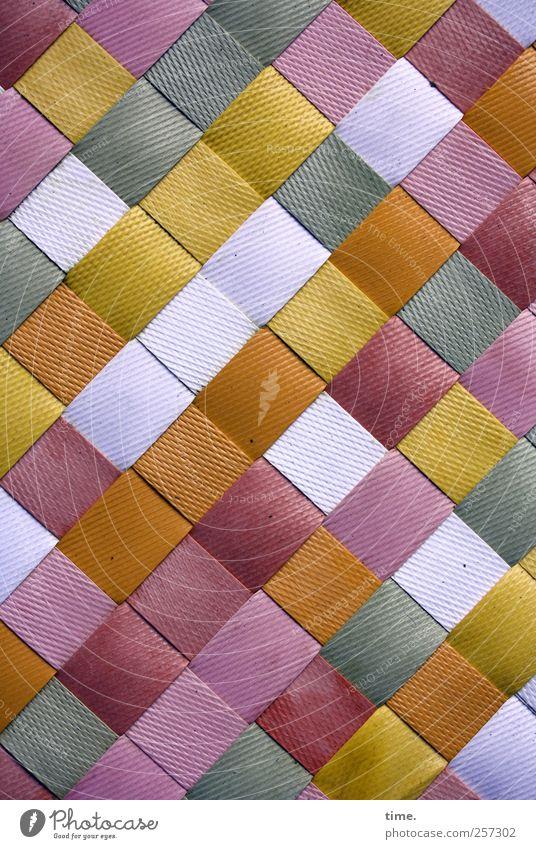 White Red Brown Arrangement Decoration Plastic Violet Square Parallel Surface Smoothness Plaited Floor mat Surface structure
