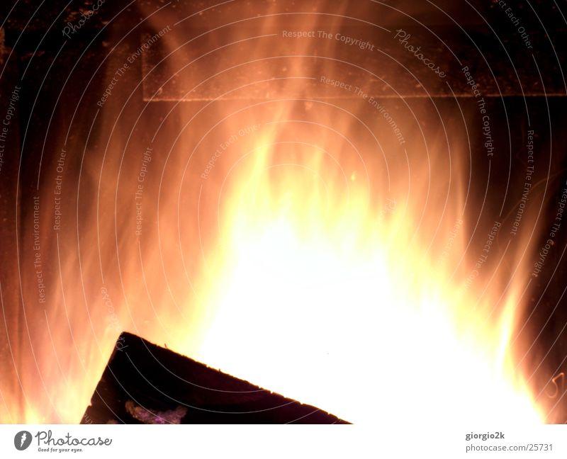 Red Wood Blaze Hot Burn Flame Chimney Fireside Carbon