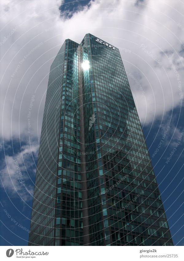 Sky Sun Blue City Architecture Glass High-rise Paris France